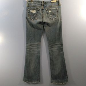 Adriano Goldschmied Distressed Angel Bootcut 25R